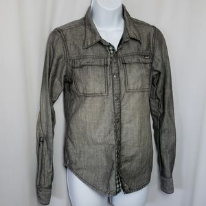 ARBOR BUTTON UP SHIRT SIZE SMALL